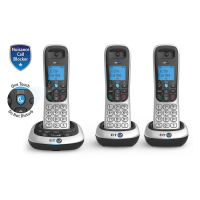BT 2700 Trio Digital Cordless With Answer Machine